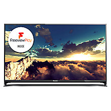 "Buy Panasonic Viera TX-40CX802B LED 4K Ultra HD 3D Smart TV, 40"" with Freeview HD/freesat HD, Built-In Wi-Fi & Voice Assistant Online at johnlewis.com"