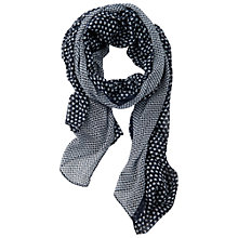 Buy Betty Barclay Printed Scarf, Dark Blue / White Online at johnlewis.com