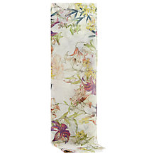 Buy Reiss Valentine Flower Scarf, Sugar Online at johnlewis.com