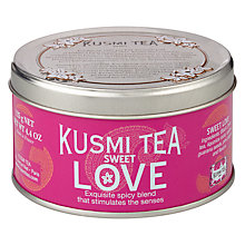 Buy Kusmi Tea, Sweet Love Tin, 125g Online at johnlewis.com