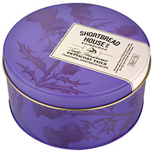 Buy Shortbread House of Edinburgh Petticoat Tails Tin, 400g Online at johnlewis.com
