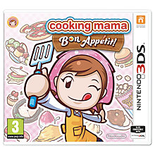 Buy Cooking Mama: Bon Appétit, Nintendo 3DS Online at johnlewis.com