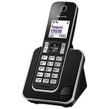 Buy Panasonic KX-TGD310EB Digital Cordless Phone with Nuisance Call Control, Single DECT Online at johnlewis.com