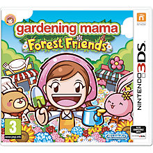 Buy Gardening Mama: Forest Friends, Nintendo 3DS Online at johnlewis.com
