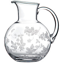 Buy Wedgwood Wild Strawberry Crystal Water Carafe Online at johnlewis.com