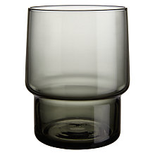 Buy John Lewis Scandi Handmade Glass Stacking Tumbler Online at johnlewis.com