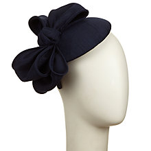 Buy John Lewis Blake Shantung Bow Pillbox Hat Online at johnlewis.com