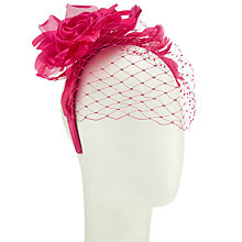 Buy John Lewis Nelly Flower Sinamay Fascinator Online at johnlewis.com