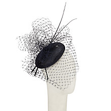 Buy John Lewis Faye Spot Veil Pillbox Hat Online at johnlewis.com
