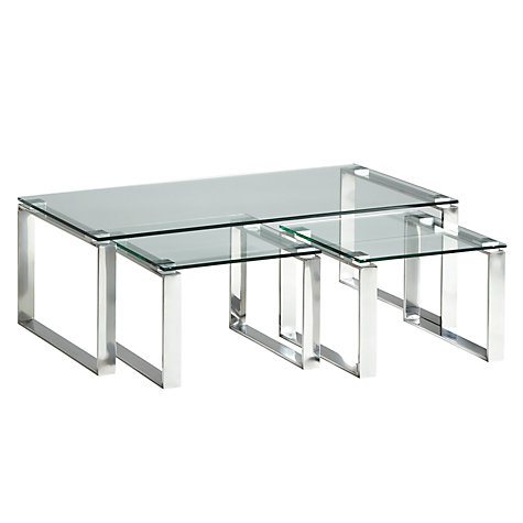 Buy john lewis frost coffee table and pair of side tables for Coffee tables john lewis