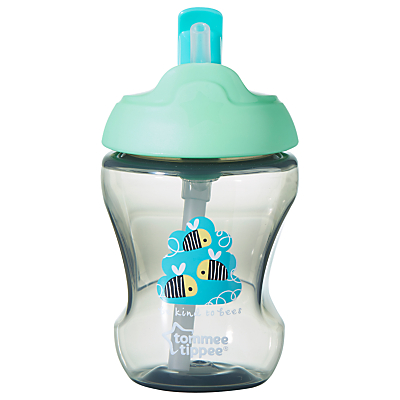 Tommee Tippee Baby Beaker with Straw, 230ml, Green