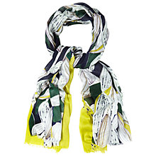 Buy White Stuff Botanical Leaf Scarf, Multi Online at johnlewis.com