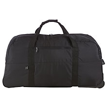 Buy Kin by John Lewis 2 Wheel Holdall, Black Online at johnlewis.com