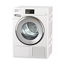 Buy Miele TMV 840 WP Heat Pump Tumble Dryer, 9kg Load, A+++ Energy Rating, White Online at johnlewis.com