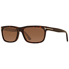 Buy TOM FORD FT0337 Hugh Square Frame Sunglasses Online at johnlewis.com