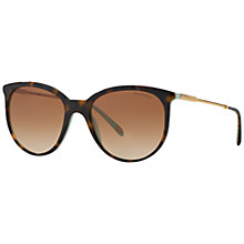 Buy Tiffany & Co TF4087B Round Framed Sunglasses Online at johnlewis.com