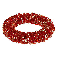 Buy John Lewis Sparkle Napkin Ring, Red Online at johnlewis.com