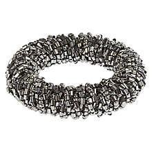 Buy John Lewis Graphite Sparkle Napkin Ring Online at johnlewis.com