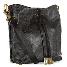 Buy Jaeger Mini Broadwick Leather Crossbody Bag Online at johnlewis.com