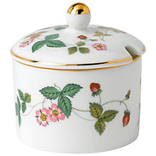 Buy Wedgwood Wild Strawberry Jam Pot Online at johnlewis.com