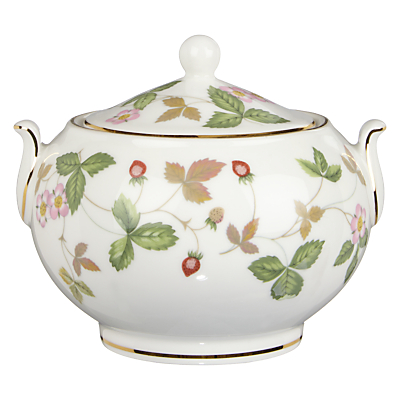 Wedgewood Wild Strawberry Sauce Dish