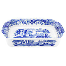 Buy Spode Blue Italian Large Rectangular Baking Dish Online at johnlewis.com