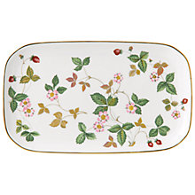 Buy Wedgwood Wild Strawberry Tray Online at johnlewis.com