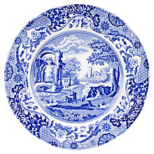 Buy Spode Blue Italian Dinner Plate Online at johnlewis.com