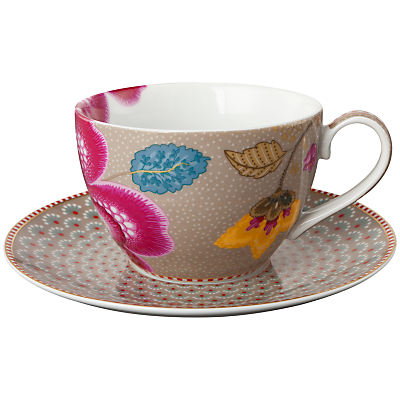 PiP Studio Fantasy Cappuccino Cup & Saucer