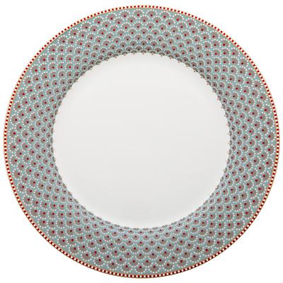 PiP Studio Blooming Tales Plate, 26.5cm, Blue