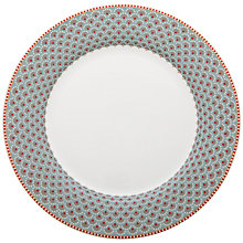 Buy PiP Studio Blooming Tales Plate, 26.5cm, Blue Online at johnlewis.com