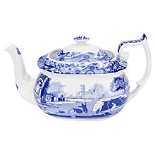 Buy Spode Blue Italian Teapot Online at johnlewis.com