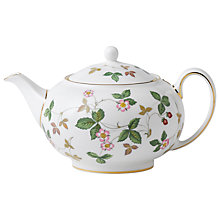 Buy Wedgwood Wild Strawberry Teapot Online at johnlewis.com