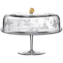 Buy Wedgwood Wild Strawberry Crystal Cake Stand Online at johnlewis.com