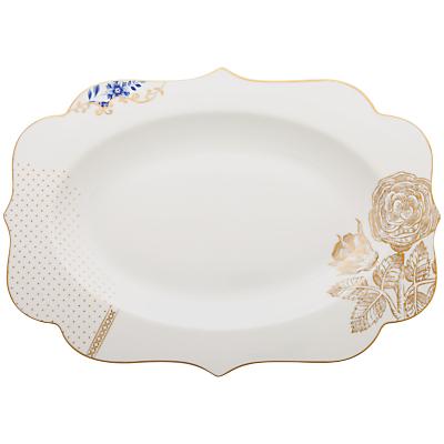 PiP Studio Royal Pip White Platter, 40cm