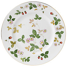Buy Wedgwood Wild Strawberry Dinner Plate Online at johnlewis.com