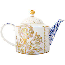 Buy PiP Studio Royal Blue Teapot Online at johnlewis.com