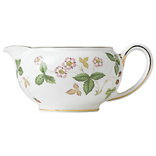 Buy Wedgwood Wild Strawberry Creamer Online at johnlewis.com