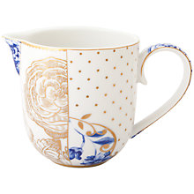 Buy PiP Studio Royal White Milk Jug Online at johnlewis.com