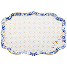 Buy PiP Studio Royal Pip White Tray, 26cm Online at johnlewis.com