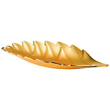 Buy Wedgwood Wild Strawberry Long Leaf Tray Online at johnlewis.com