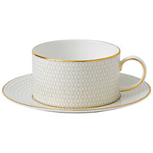 Buy Wedgwood Arris Teacup and Saucer Online at johnlewis.com