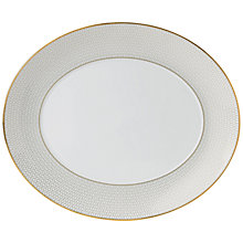 Buy Wedgwood Arris Oval Serving Platter Online at johnlewis.com