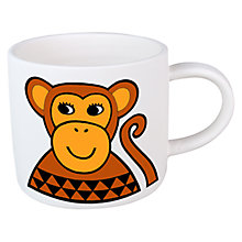 Buy Jane Foster Monkey Mini Mug Online at johnlewis.com