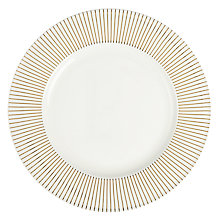 Buy John Lewis Mirror Dinner Plate, White Online at johnlewis.com