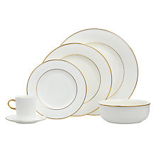 Buy John Lewis Gold Band Tableware Online at johnlewis.com