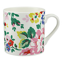 Buy Cath Kidston Spray Flowers White Billie, Large Online at johnlewis.com
