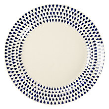 Buy Nkuku Indigo Drop Side Plate Online at johnlewis.com