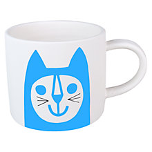Buy Jane Foster Blue Cat Mini Mug Online at johnlewis.com