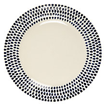 Buy Nkuku Indigo Dinner Plate Online at johnlewis.com